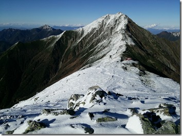 中白峰から間ノ岳2