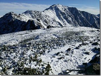 中白峰から間ノ岳
