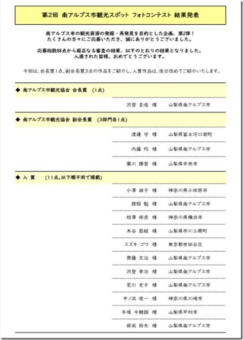 フォトコン名簿